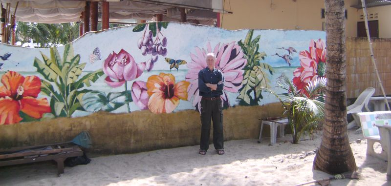 70 Mural and Artist, Thailand 2011 - Click Image to Close