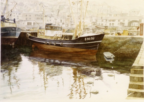 06 Brixham Harbour - Click Image to Close